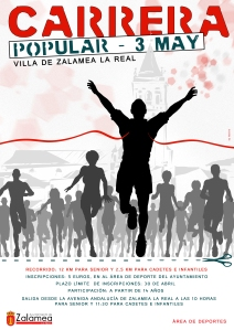 CARTEL CARRERA POPULAR 3 mayo zalamea (1)
